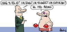 El trazo de Andrés Edery sobre Kina Malpartida y el affaire con KiKe Pérez