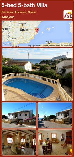5-bed 5-bath Villa in Benissa, Alicante, Spain ►€495,000 #PropertyForSaleInSpain