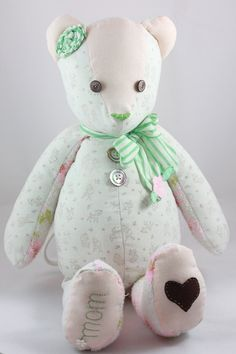 Memory Bear Custom Created from your own by TwoElephantsShop, $50.00