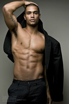 Black Dagger Brotherhood Trez by EhnviousVhanity Nathan Owens, Black Dagger Brotherhood, Black Is Beautiful, Gorgeous Men, Major Models, Hommes Sexy, Raining Men, Fine Men, Attractive Men