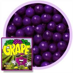 """Colossal Grape Gumballs (1""""/850 count)"""