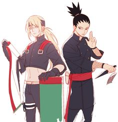 inojin and shikamaru