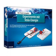Franzis Lernpaket Experimente mitTesla-Energie online kaufen ➜ Bestellen Sie Lernpaket Experimente mitTesla-Energie für nur 19,95€ im design3000.de Online Shop - versandkostenfreie Lieferung ab €!
