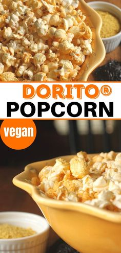 This Dorito Popcorn Seasoning Recipe is so easy to make. This healthy seasoning uses nutritional yeast to get that very special taste. Popcorn Seasoning, Seasoning Recipe, Real Food Recipes, Vegan Recipes, Cooking Recipes, Homemade Popcorn, Healthy Dips, Homemade Seasonings, Best Side Dishes