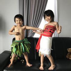 Moana and Maui Costumes
