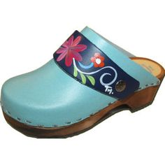 Turquoise, Snap Strap with your choice of Strap, Tessa Clog