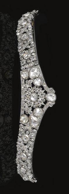 A diamond tiara, circa 1920's.