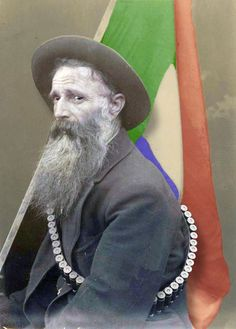 Boer with Transvaal flag (I'm not in the competition myself. Just coloured this to kick off the fun)