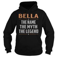 BELLA The Myth, Legend - Last Name, Surname T-Shirt