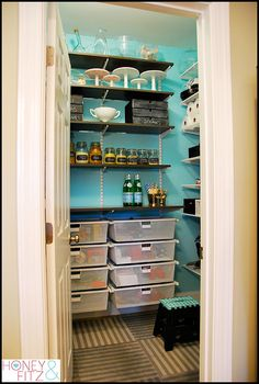 beautiful pantry
