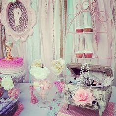 Shabby Chic Birthday Party Ideas | Photo 5 of 22 | Catch My Party
