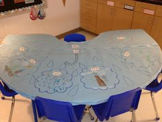 Graffiti Tables - AWESOME idea for guided reading!