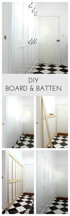 DIY Board & Batten