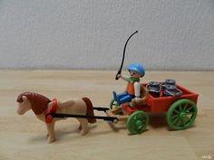 Chariot Série 1900 Tiré Par Un Poney Playmobil PLAYMOBIL 4171 M