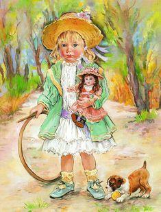 christine haworth art - Page 7 Illustration Artists, Cute Illustration, 1 Gif, Freelance Illustrator, Art Pages, Vintage Children, Vintage Images, Illustrators, Art For Kids