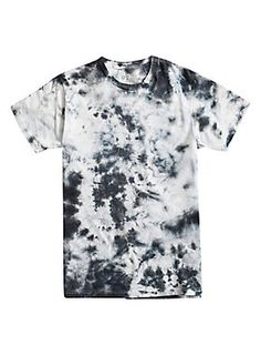 """A storm's a-brewin' on this tee. With a black and white tie dye wash, this tee looks gloomy and awesome! <br><ul><li style=""""list-style-position: inside !important; list-style-type: disc !important"""">100% cotton</li><li style=""""list-style-position: inside !important; list-style-type: disc !important"""">Wash cold; dry low</li><li style=""""list-style-position: inside !important; list-style-type: disc !important"""">Imported</li><li style=""""list-style-position: inside !important; list-style-type: disc…"""