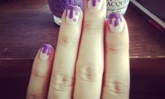 dripping nail art   How to Do Dripping Nail Art - Snapguide