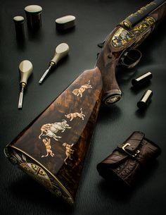 Westley Richards 'Gun Archive' – The Sidelock Double Rifle Weapons Guns, Guns And Ammo, Nitro Express, Gun Decor, Firearms, Shotguns, Trap Shooting, The Sporting Life, Elephant Walk