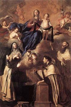 Pietro Novelli Our Lady of Carmel and Saints - Carmelites - Wikipedia, the free encyclopedia
