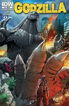 Godzilla #7 - The Government Game Them a Choice... Now There' No Turning Back. (Issue)