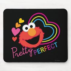 Alfombrilla De Ratón Bonito de Elmo perfecto | Zazzle.com Create Your Own, Create Yourself, Elmo Sesame Street, Custom Mouse Pads, Big Bird, Corner Designs, Marketing Materials, Design Elements, Birthday Gifts