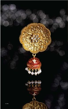 love this jhumki from tanishq