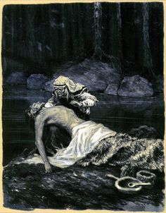 Canis Albus — Kalevala illustrations by Nicolai Kochergin New Fantasy, Dark Fantasy, Baby Witch, Pop Art, Fairy Tales, Art Photography, Illustration Art, Lion Sculpture, Artist