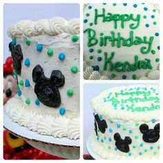 Big Bears Wife: Two Layer Chocolate Cake with Buttercream Icing { Mickey Mouse Cake }