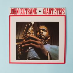 GIANT STEPS JOHN COLTRANE LP  #johncoltrane #vinyls #jazz #hardbop #bebop #modal #madeinitaly #music #records #doxy #acv #inarchivio #shop #shopping #archiviostore