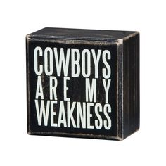 Cowboys Wooden Box | dotandbo.com