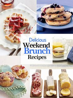 Our fave sweet and savory brunch recipes will make weekend mornings extra special: http://www.countryliving.com/cooking/recipes/brunch-recipes