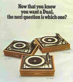 Dual ging in 1982 failliet maar ze worden nog steeds/weer gemaakt door een ander bedrijf.