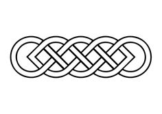 Celtic Basic Knot Coloring Page