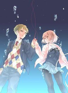 Kyoukai no Kanata (Beyond The Boundary) Mobile Wallpaper - Zerochan Anime Image Board Manga Anime, Anime Art, Katana, Otaku, Beyond The Boundary, Tamako Love Story, Ken Tokyo Ghoul, Anime Love Couple, My Demons