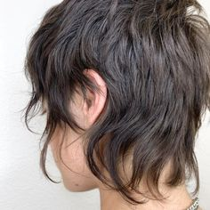 Edgy Short Hair, Edgy Hair, Short Hair Cuts, Hair Inspo, Hair Inspiration, Mullet Hairstyle, Short Shag Hairstyles, Grunge Hair, Hair Dos