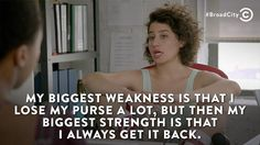 Broad City #knowyourstrength