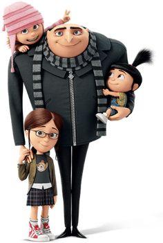 despicable me gru Agnes Despicable Me, Illumination Entertainment, Universal Pictures, Portrait Art, Disney Pixar, Animation, Kids, Movies, Fictional Characters