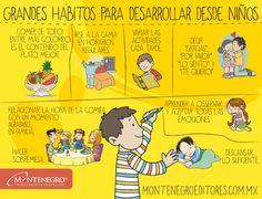 Grandes hábitos para desarrollar en nuestros hijos e hijas desde pequeños