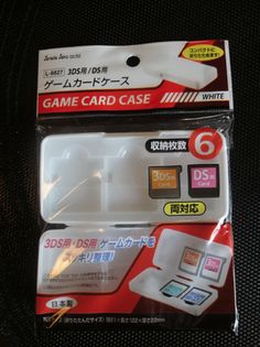 tophatsan: send you a Nintendo 3DS game card case for $5, on fiverr.com