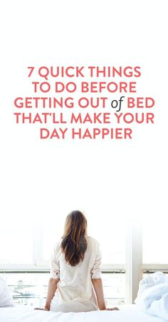 quick things to do in the morning to wake up happier