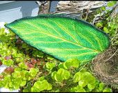 Items similar to Oregon Duck inspired concrete casting of a real Comfrey leaf. on Etsy Cement Leaf Casting, Concrete Leaves, Hand Cast, It Cast, Concrete Sculpture, Craft Show Ideas, Leaf Art, Oregon Ducks, Roots