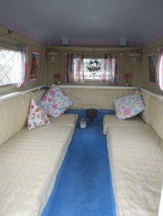 A portafold interior