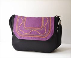Bohemian satchel bag Ethnic bag satchel Embroidered satchel