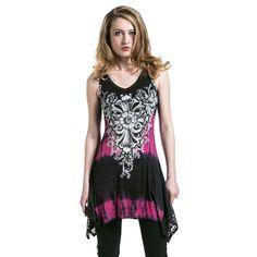 Flower Lace - Vestido por Vocal - Número Artículo: 283086 - desde 49,99 € - EMP tienda online de Camisetas, Merchandise, Rock, Heavy Metal, Gótica ...