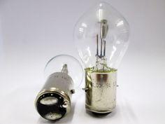 12v 35/35w BA20D Motorbike Headlight / Headlamp Bulb R394