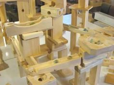 Marble machine construction set - YouTube