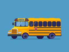 School Bus by Zaib Ali