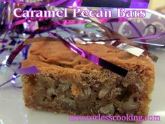 Happy New Year from Moore Or Less Cooking! This is the first recipe on my blog for 2014! I am happy to post a very delicious and easy cookie bar to start the New Year off with sweet luck! Thinking …