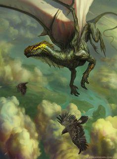 Predator Above the Clouds