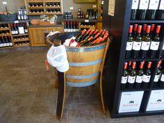 Wine/ Drink Cooler $ 325.00 Wine Drinks, Wine Rack, Barrel, Home Decor, Bottle Rack, Decoration Home, Barrel Roll, Room Decor, Wine Racks